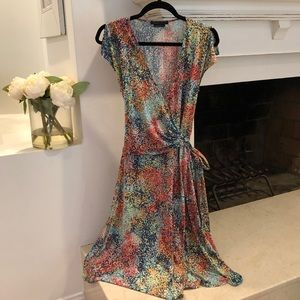 🌺 BCBG MAXAZARIA Wrap Dress